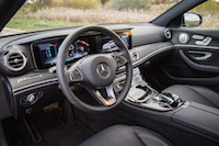 2017 Mercedes-Benz E300 4MATIC black interior