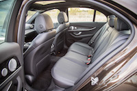 2017 Mercedes-Benz E300 4MATIC rear seat leg room
