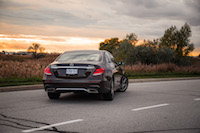 2017 Mercedes-Benz E300 4MATIC rear view amg