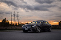 2017 Mercedes-Benz E300 4MATIC sunset