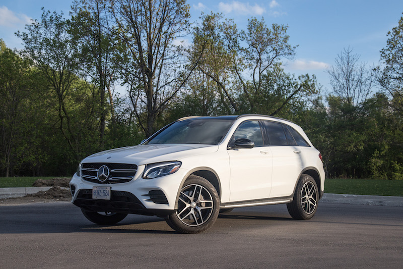 Mercedes-Benz GLC 300 new for 2017 canada