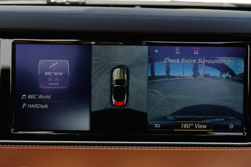 2017 Mercedes-Benz S 550 Cabriolet parking camera view