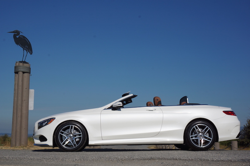 2017 Mercedes-Benz S 550 Cabriolet side view
