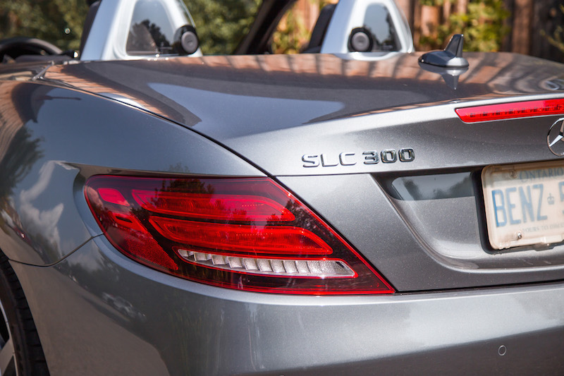 2017 Mercedes-Benz SLC 300 rear tail lights