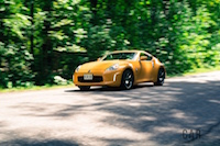 2017 Nissan 370Z Touring Sport drive by front quarter