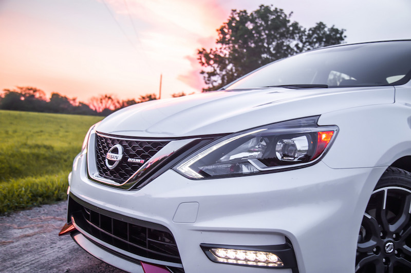 2017 Nissan Sentra Nismo v motion front grill
