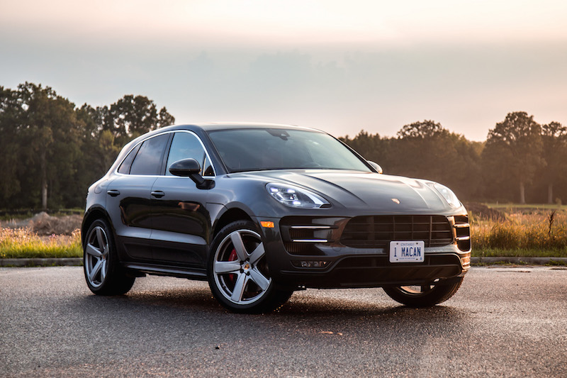 2017 Porsche Macan Turbo with Performance Package volcanic gray metallic