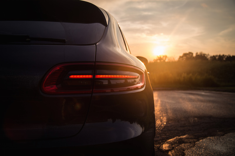2017 Porsche Macan Turbo with Performance Package taillights
