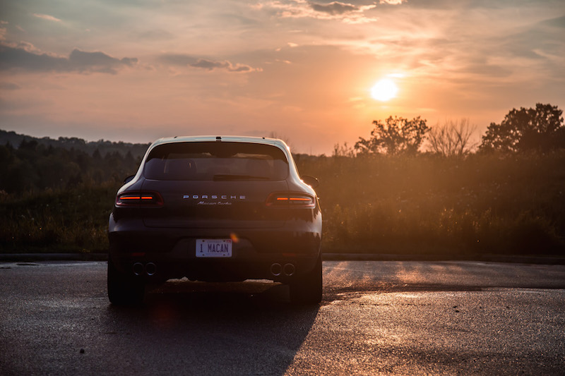 2017 Porsche Macan Turbo with Performance Package rear