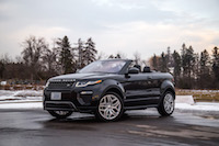 Range Rover Evoque Convertible led lights
