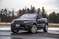 Range Rover Evoque Convertible sport dynamic package