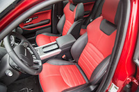 2017 Range Rover Evoque HSE Dynamic front seats