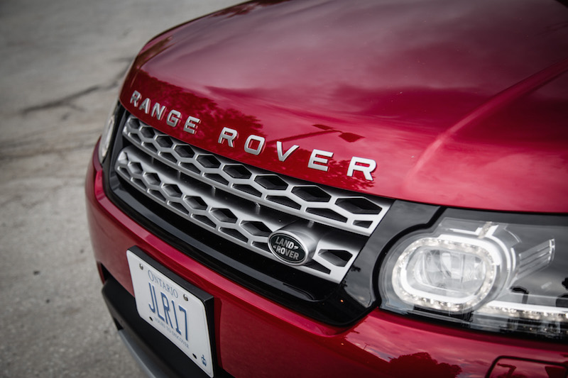 2017 Range Rover Sport front grill chrome