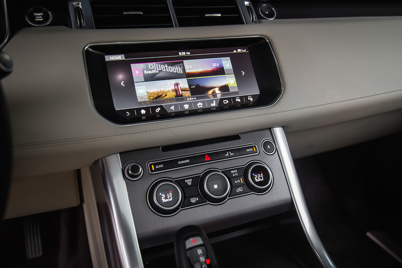 2017 Range Rover Sport incontrol touch pro