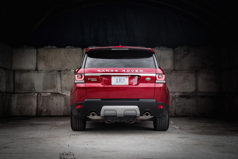 2017 Range Rover Sport red