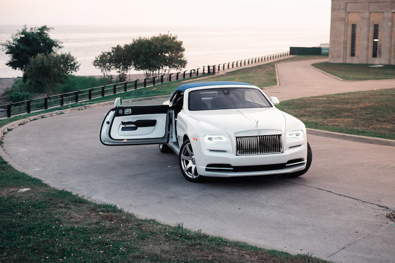 2017 Rolls-Royce Dawn Inspired By Fashion roof up door open