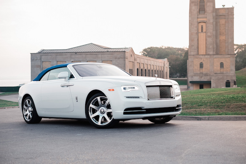 2017 Rolls-Royce Dawn Inspired By Fashion andalusian white