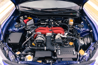 2017 Subaru BRZ Sport-Tech boxer engine