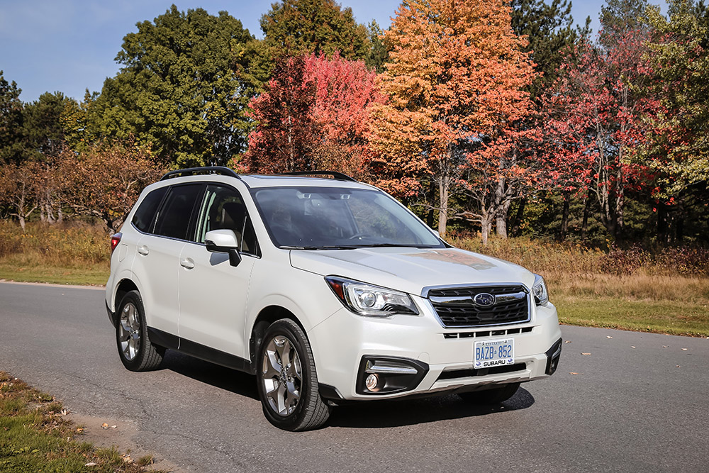 2017 Subaru Forester 2.5i Limited chinese review canada