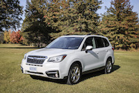 2017 Subaru Forester 2.5i Limited package with tech