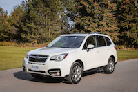 2017 Subaru Forester 2.5i Limited white paint