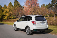 2017 Subaru Forester 2.5i Limited october fall