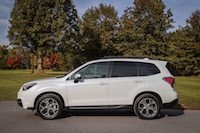 2017 Subaru Forester 2.5i Limited side view