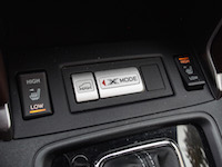 2017 Subaru Forester 2.5i Limited x mode button