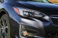 2017 Subaru Impreza led headlights