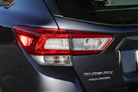 2017 Subaru Impreza led taillights