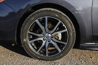 2017 Subaru Impreza wheels tires