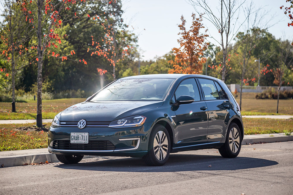 2017 Volkswagen e-Golf comfortline canada review new used