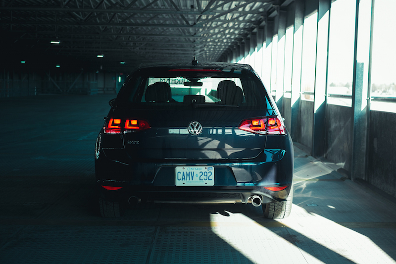 2017 VW Golf GTI rear