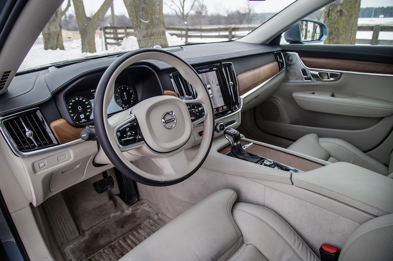 Review 2017 Volvo S90 T6 Awd Inscription Canadian Auto Review