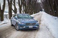 volvo s90 mussel blue paint