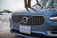 2017 Volvo S90 T6 AWD Inscription front grill