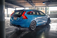 2017 Volvo V60 Polestar up close