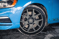 2017 Volvo V60 Polestar winter wheels tires