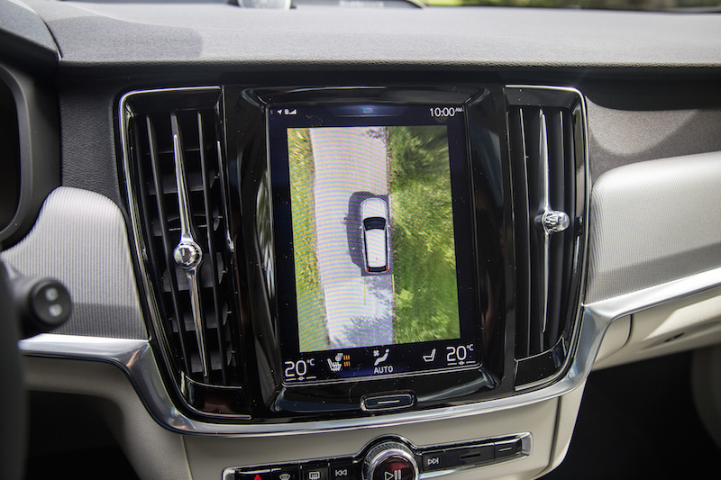 2017 Volvo V90 Cross Country surround view camera