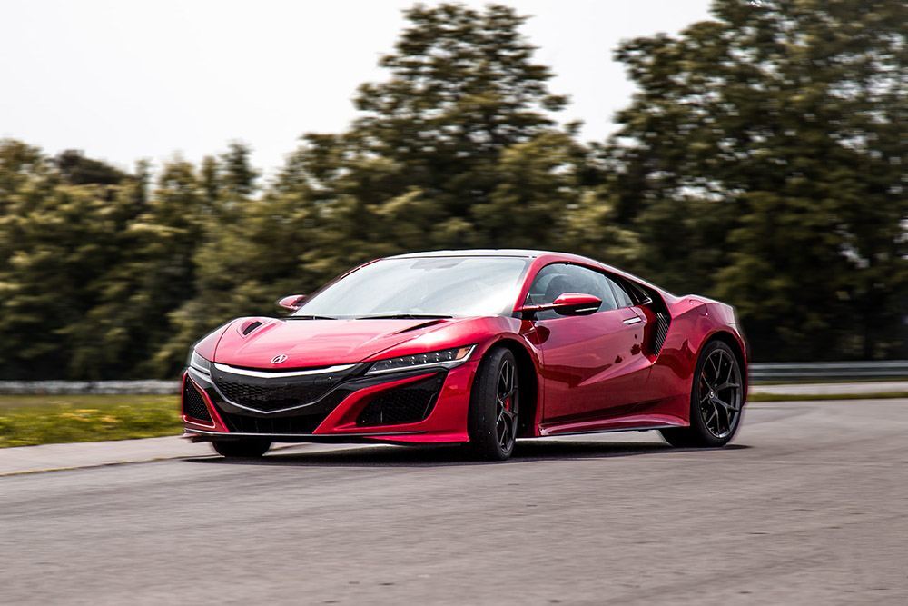 2018 acura nsx track drive review