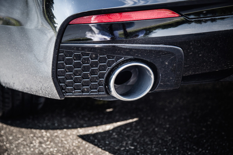 2018 Acura TLX A-Spec exhaust tips