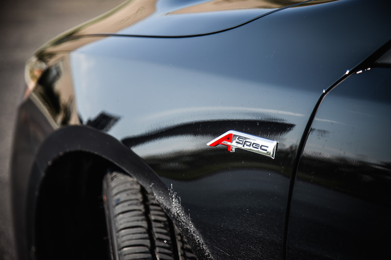 2018 Acura TLX A-Spec fender badge