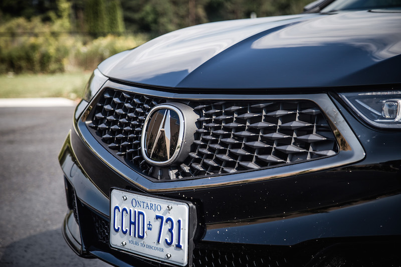 2018 Acura TLX A-Spec crystal black pearl