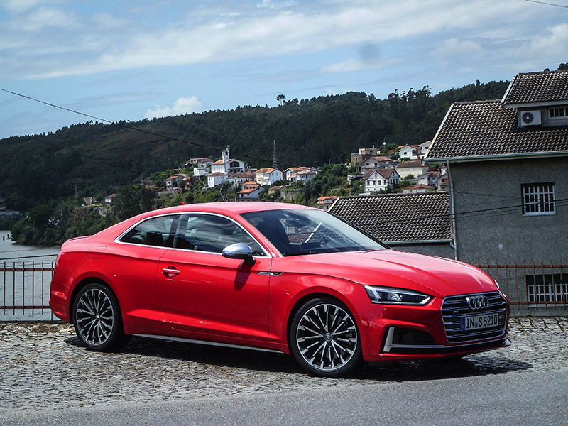 2018 Audi S5 and A5 in portugal review