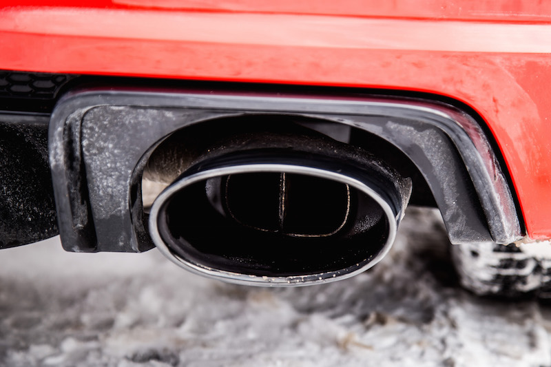 2018 Audi TT RS exhaust pipe