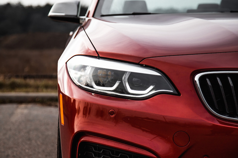 2018 BMW M240i led headlights standard