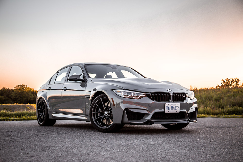 2018 BMW M3 CS canada review