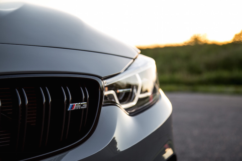 2018 BMW M3 CS front grill badge