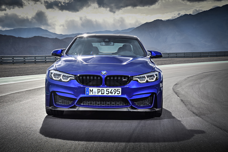2018 BMW M4 CS front lip spoiler