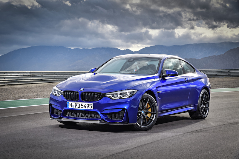 2018 BMW M4 CS new look